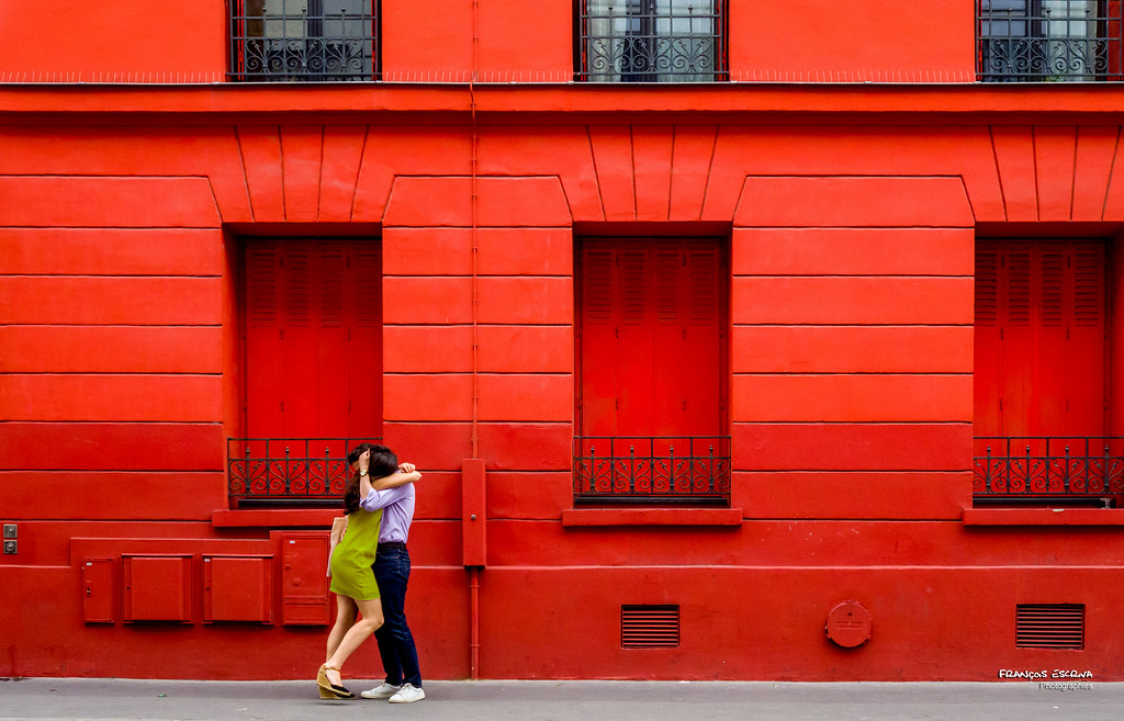 ... Street   Red House Lovers   By François Escriva