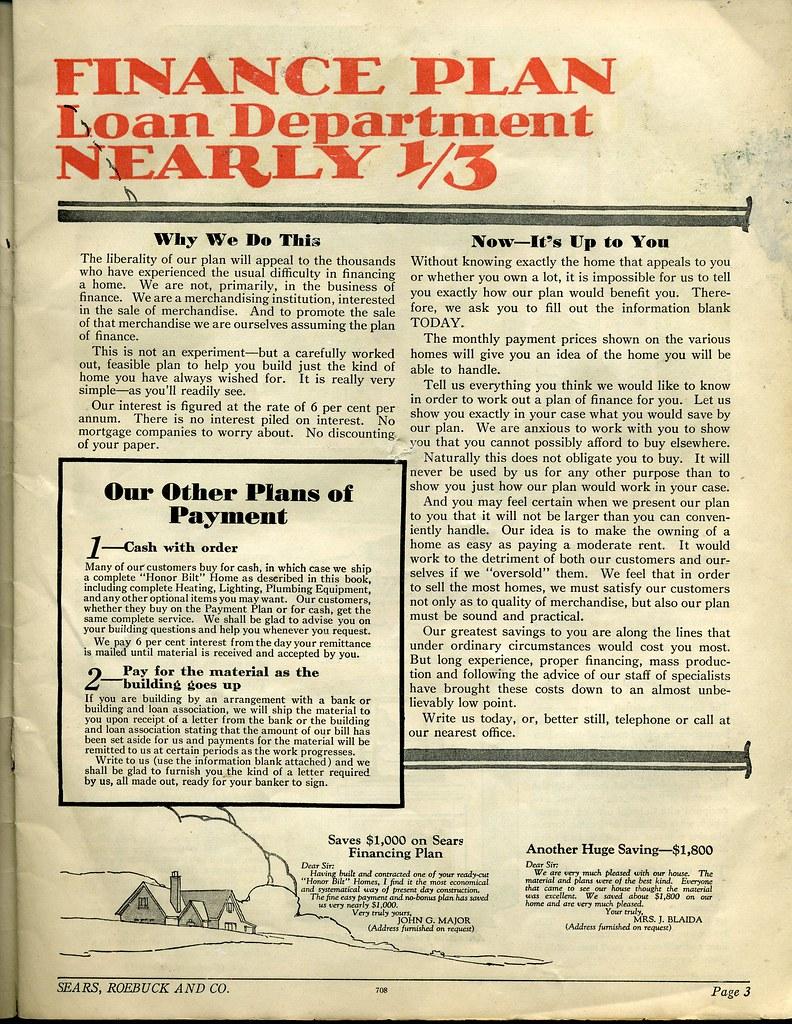 Sears Honor Bilt Brick Veneer Homes | 1929 Special Catalog o