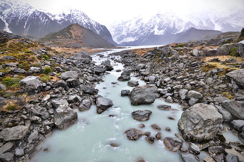 Hooker Valley Track Stream | by owl.order