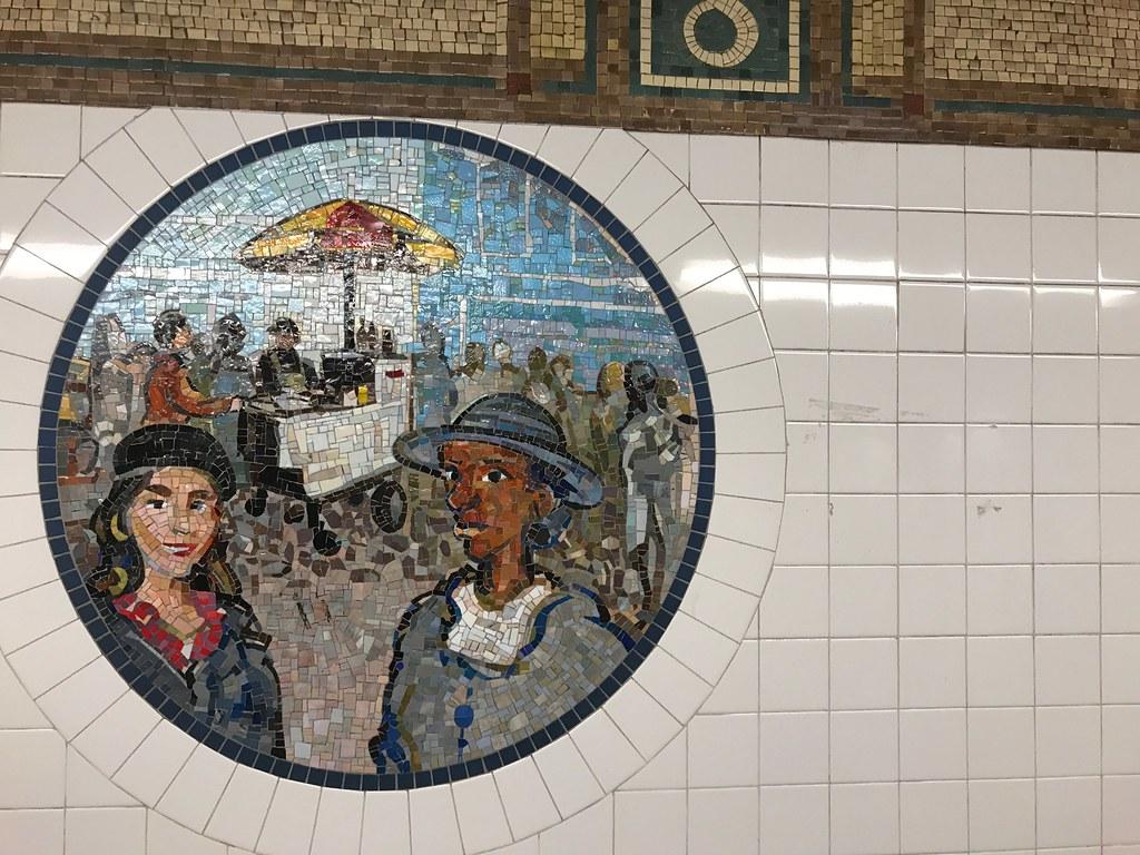 New York City Subway Tile Art Michael Weekes Jr Flickr