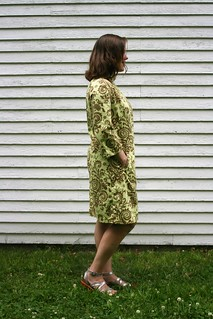 Burda Style 7114 Dress in Amy Butler Fabric | by patternandbranch