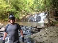 Dad at Cochran Mill Falls