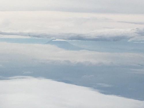 飛行機から富士山(復路) 2018/6/8