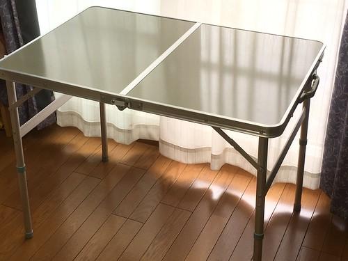 アウトドア用 折りたたみテーブル