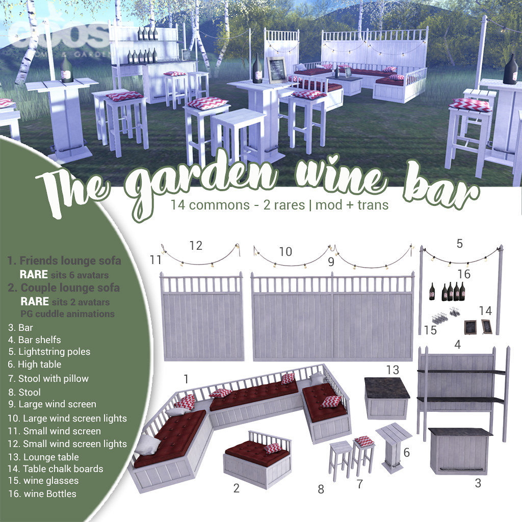 Admirable Goose The Garden Wine Bar Goose The Garden Wine Bar We Creativecarmelina Interior Chair Design Creativecarmelinacom