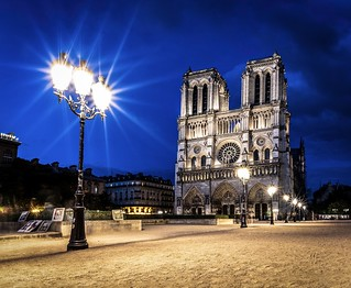Blue Hour over Notre Dame | by Seb_f_s