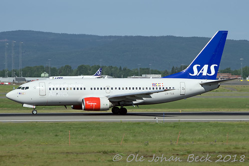 SAS B737-705 LN-TUA at ENGM/GEN 01-06-2018 | by Ole Johan Beck