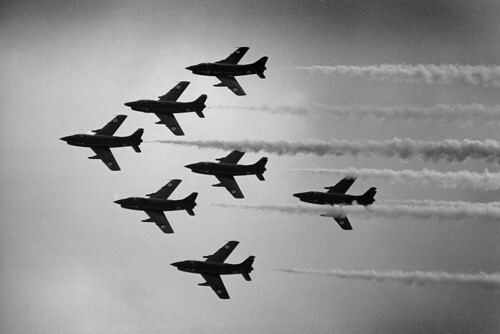 Il frecce Tricolori Greenham Common 1981 | by Dreamworker53