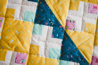 Baby girl's quilt in progress | by frommartawithlove