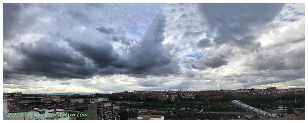 Madrid Desde Mi Terraza Junio 2018 F Vista Panorámica Desd