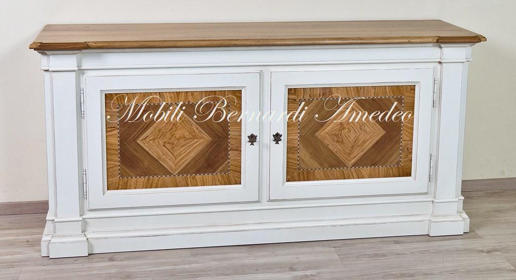 Credenza Con Intarsi : Credenza bicolore in legno massello con intarsi iu flickr
