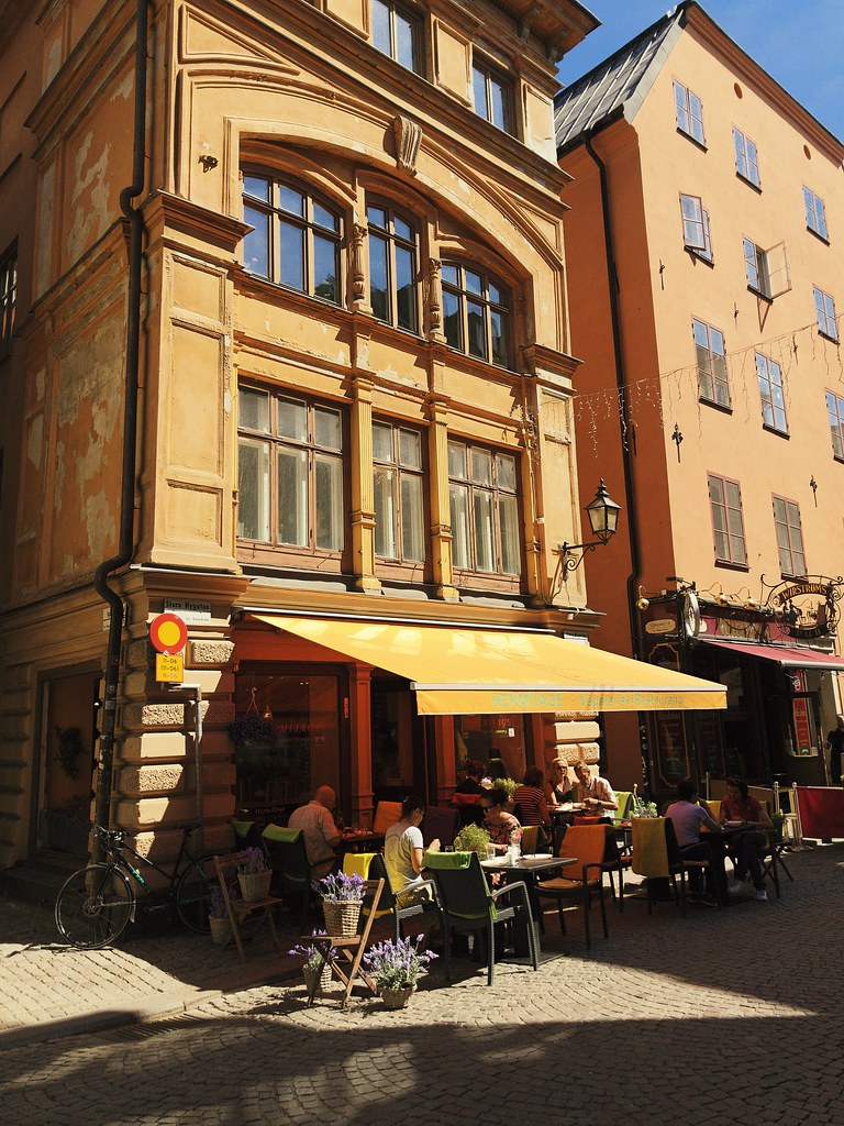 hermitage vegetarisk restaurang
