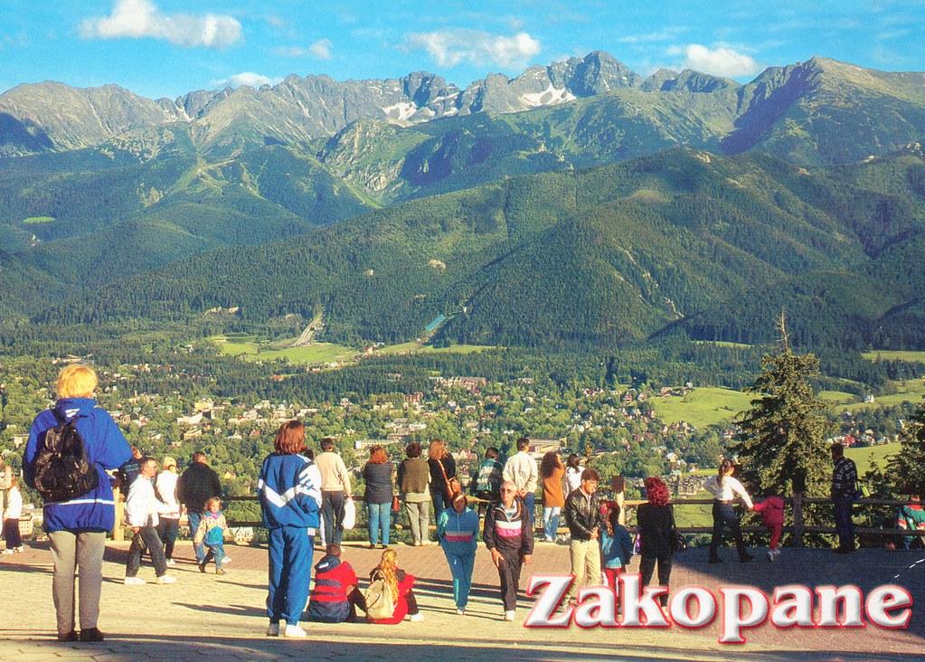 Poland View From Gubałówka Mountain On Zakopane Ski Reso Flickr