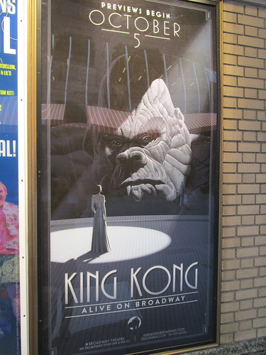 King Kong Back on Broadway Billboard NYC 3497 | by Brechtbug