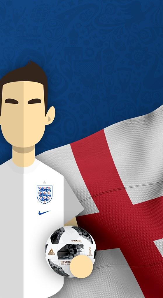 Team England Football World Cup 2018 Iphone X Wallpaper Flickr