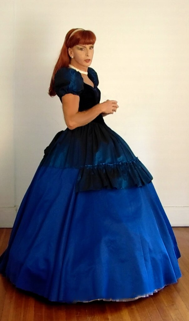 Victorian style ball gown   Cindy Denmark   Flickr
