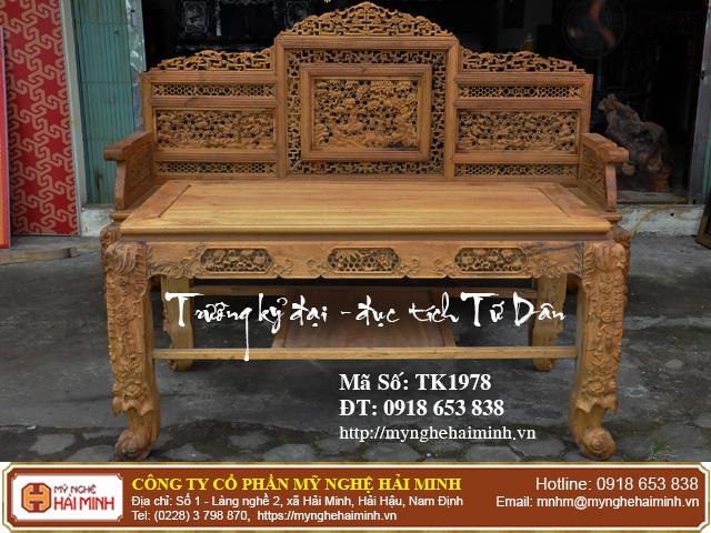 Truong ky tich Tu Dan do go my nghe hai minh TK1978f