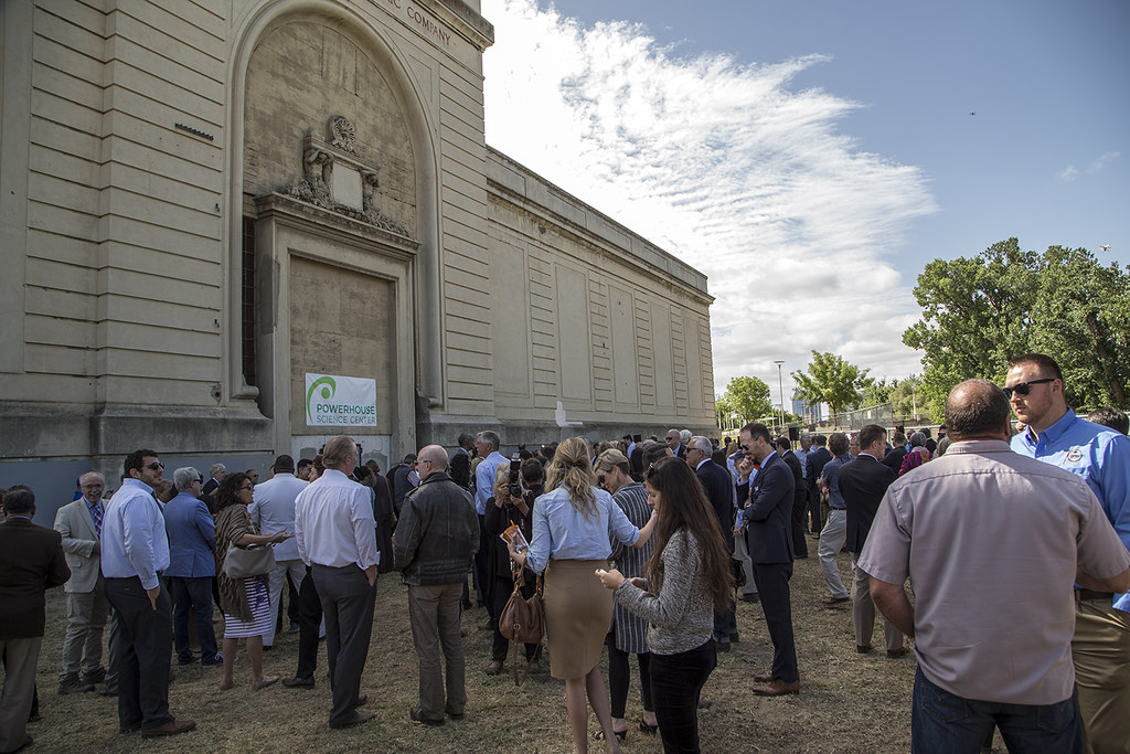 Powerhouse Science Center | Groundbreaking Ceremony for the