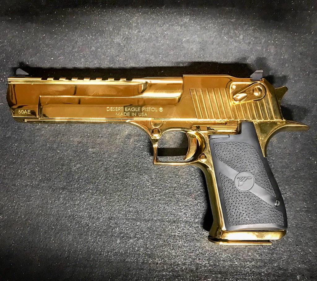 Desert Eagle 50 Cal Gold