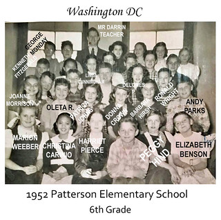 1952 Patterson Elementary Mr Darrin class | by -kidagain-