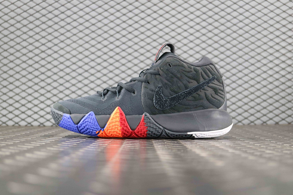 703d334ae3fe Nike Kyrie 4 Anthracite Black Noir 943807 011 Basketball Shoe For Sale  www.kyries1hybrid.