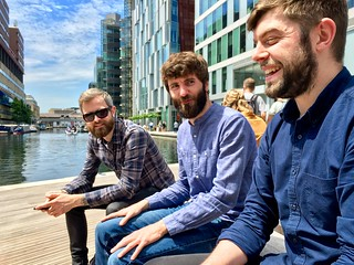 In London with the beardy contingent of @Clearleft.    Beardleft. | by adactio