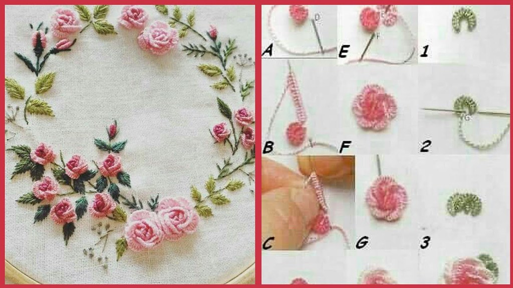 Simple Beautiful Hand Embroidery Designs Latest Attract Flickr