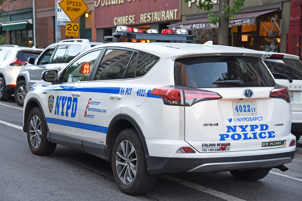 Picture Of Nypd 2017 Toyota Rav4 Car 4022 17 Belonging Flickr