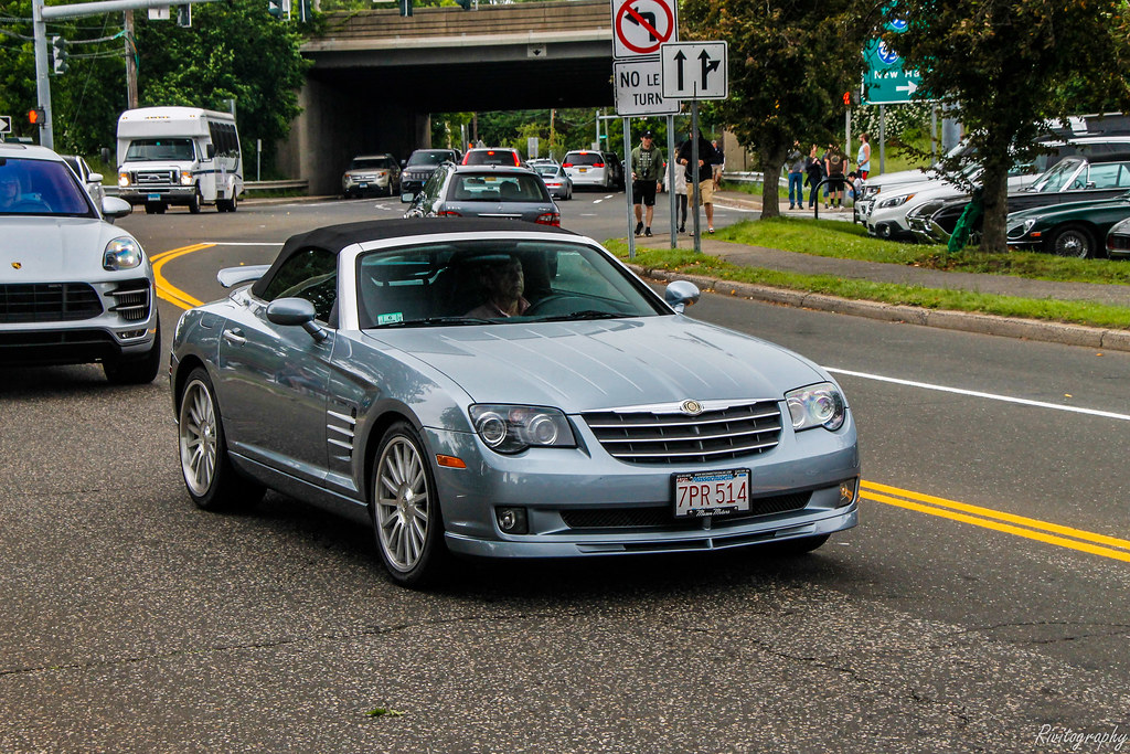 2005 Chrysler Crossfire Srt 6 This Was Driving On Arch Str Flickr