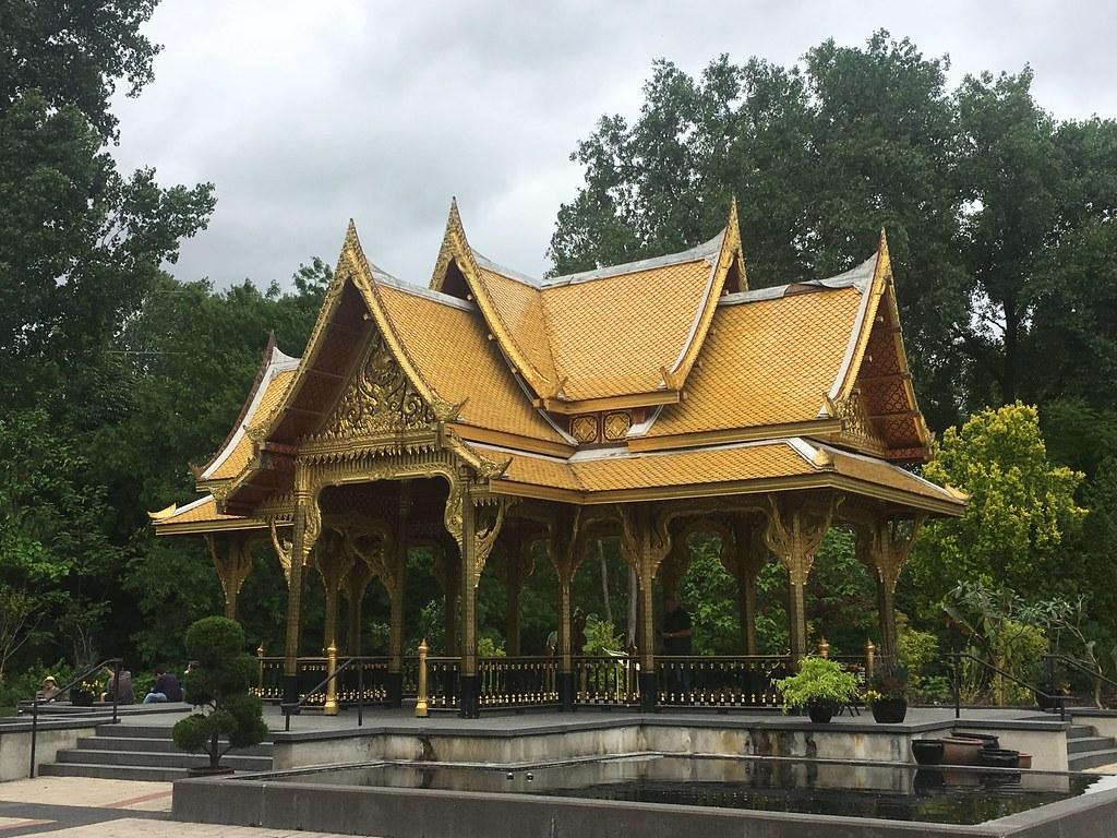 Thai Pavilion, Olbrich Gardens, Madison, Wisconsin, June 3…   Flickr