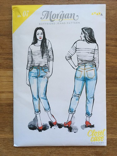 Knee-Length Morgan Boyfriend Jeans, or: Making Jeans Without Enough Denim | by patternandbranch