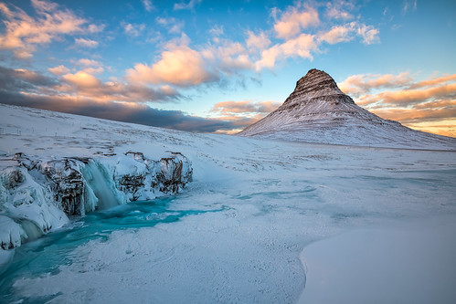 Winter Magic at Kirkjufell | by B.E.K. Photography