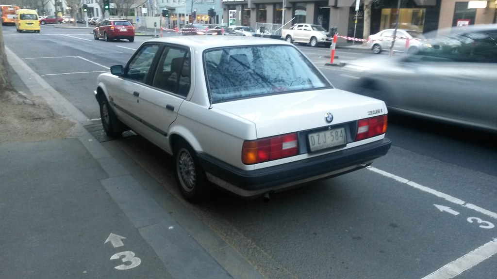 1990 Bmw E30 318i Sedan Registration Cancelled 2018 01 2 Flickr