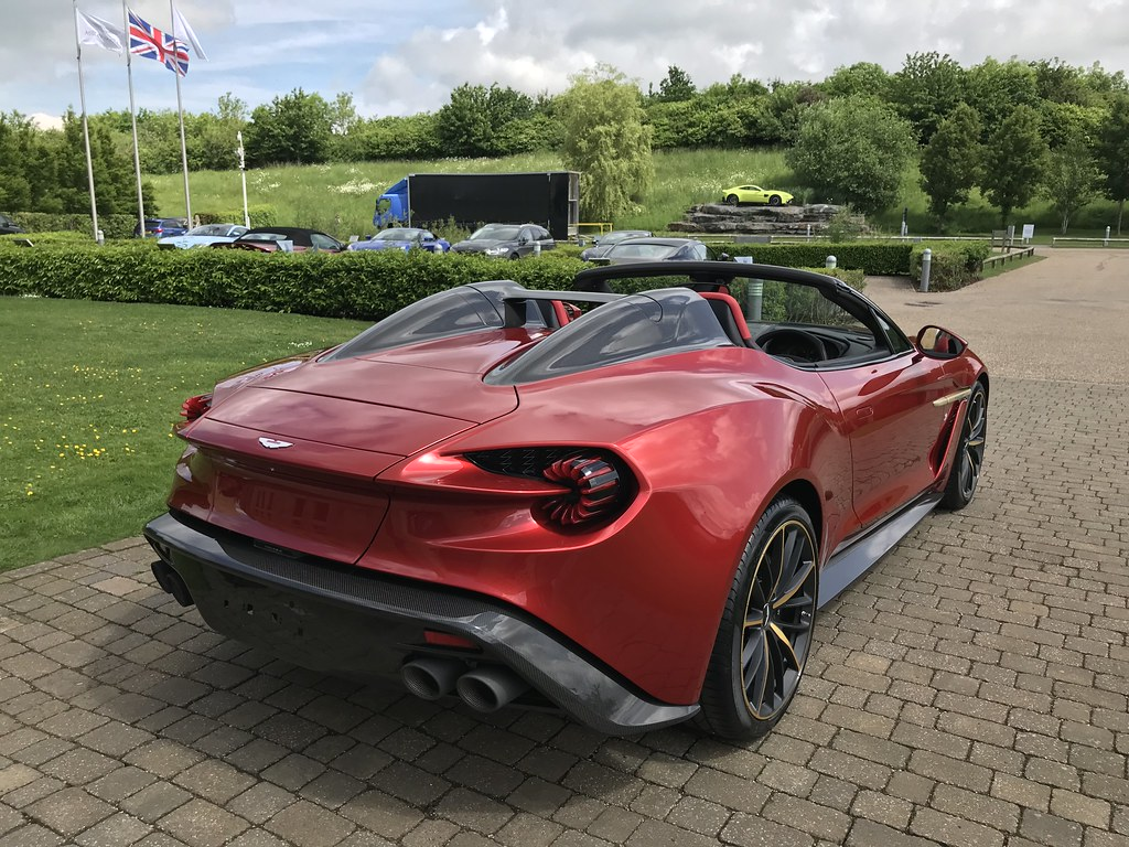 Aston Martin Vanquish Zagato Speedster Customer Collecting Flickr