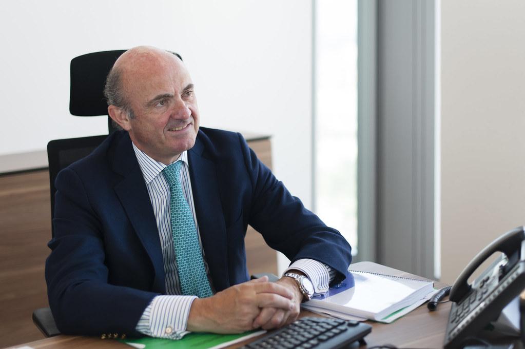 Luis De Guindos Ecb Vice President European Central Bank Flickr