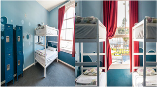 4 bed female dorm ensuite from $51.00 | by Samesun Backpacker Hostels