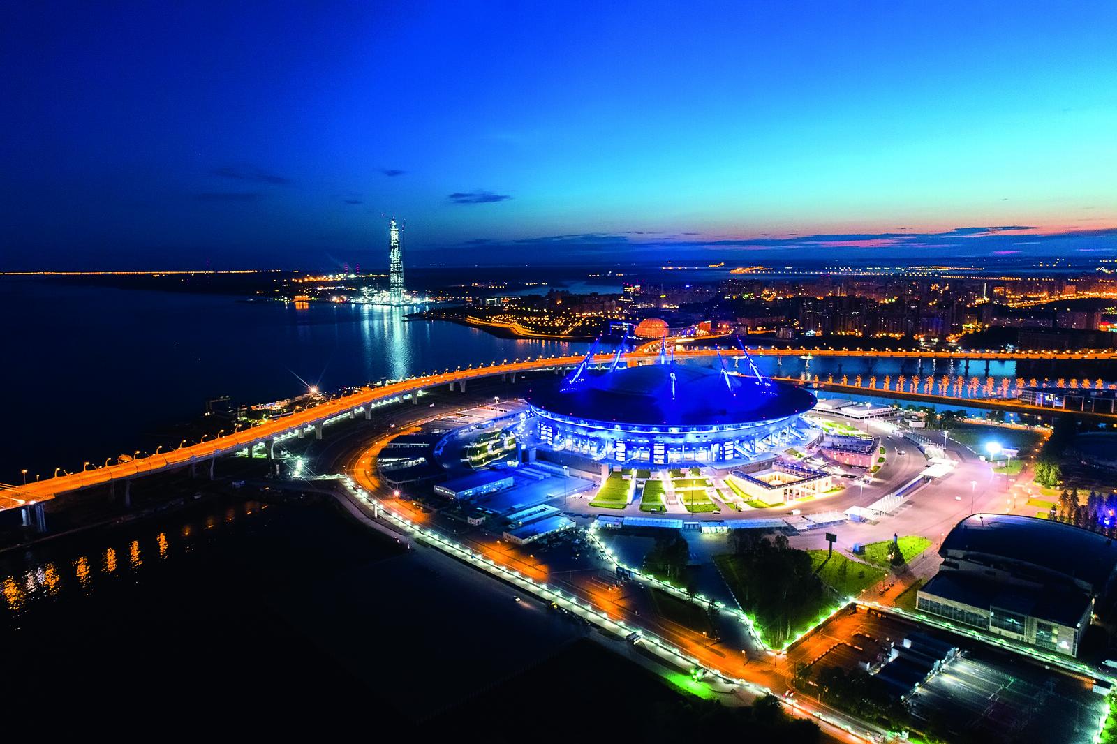 Санкт-Петербург арена, Крестовский остров