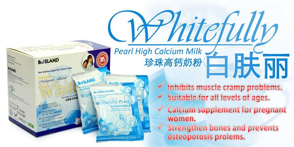Whitefully Pearl High Calcium Milk