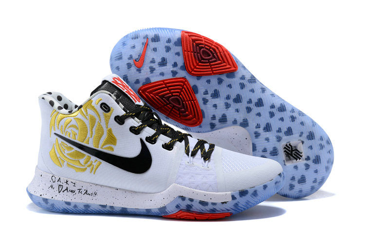 319d149afd3 ... france cheap kyrie 3 nike kyrie irving 3 air cushion gold black white  red 0b780 7d242