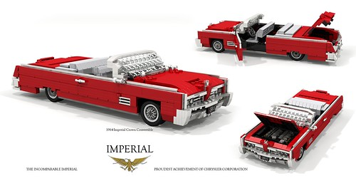 Imperial 1964 Crown Convertible | by lego911