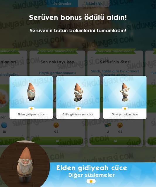 The Sims Mobile Arka Bahçe Yaz Barbeküsü (Bahçe Cücesinin Gizemi Serüveni) Etkinliği