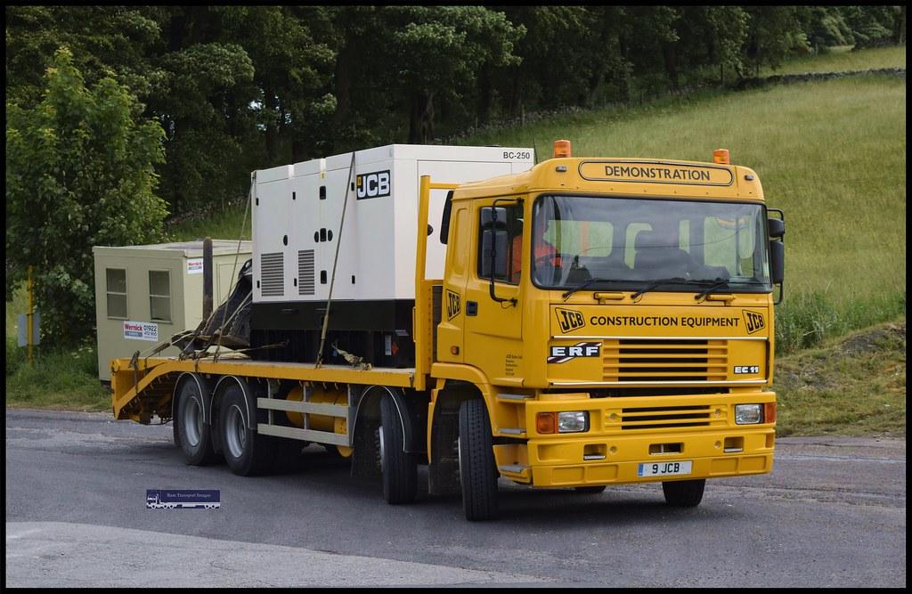 ERF EC11,JCB Construction Equipment  | SteveJeffssonSwift