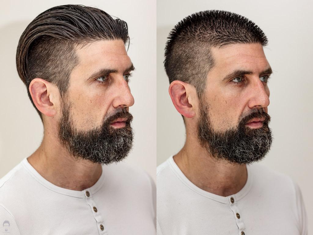 Get A Haircut Hippie Beard Was Next Christian G Flickr