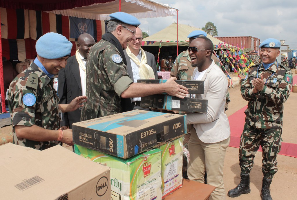 ... Beni, North Kivu, DR Congo U2013 NEPBATT Handed Over Computer Accessories,  Stationery,