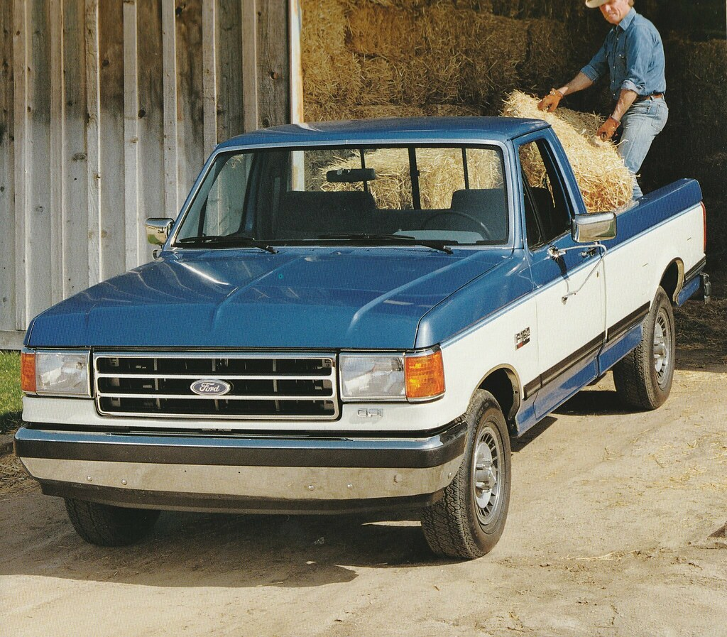 1989 Ford F150 Truck Press Photo Usa Covers The 1989 For Flickr
