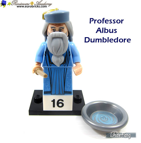 16) Professor Albus Dumbledore | by WhiteFang (Eurobricks)
