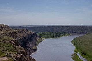 Montana River Valley at Fort Benton | by fyngyrz