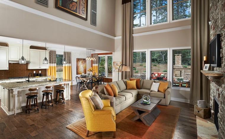 Cucine aperte sul soggiorno - idee di design e decorazione… | Flickr