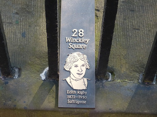 Open Plaque - Preston, 28 Winckley Square [Edith Rigby] 180505 | by maljoe