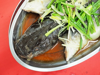 Steam Patin Fish at Pangkor Seafood Village,Taman Megah | by huislaw